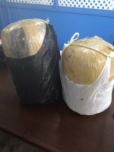 Bales found in during vehicular stop and search