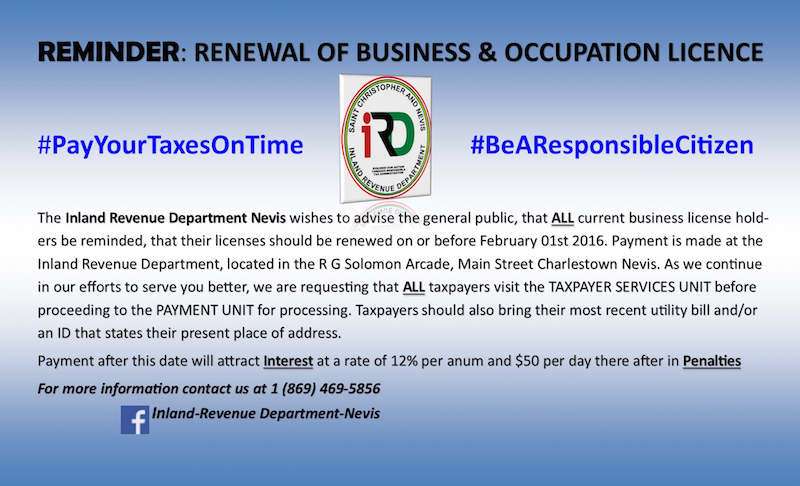 Business Licence Notice 2015 Revised copy