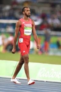 Machel Cedenio at the Rio 2016 Olympic Games