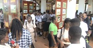 Persons gathered at the Sugar Festival