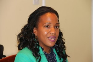 Permanent Secretary in the Ministry of Health in the Nevis Island Administration Nicole Slack-Liburd (file photo)