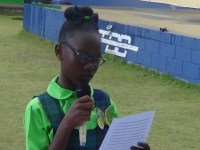 JLPS Student Council's p President -Miss Aniela  Fyfield