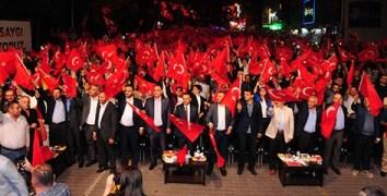 Nevşehir'de 15 Temmuz Şehitlerini unutulmadı