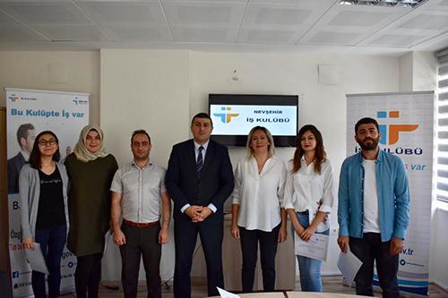 Nevşehir İş Kulübü İlk Mezunlarını Verdi