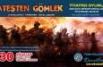 30 Ağustos Zafer bayramında Avanos'ta Ateşten Gömlek Tiyatro Oyunu