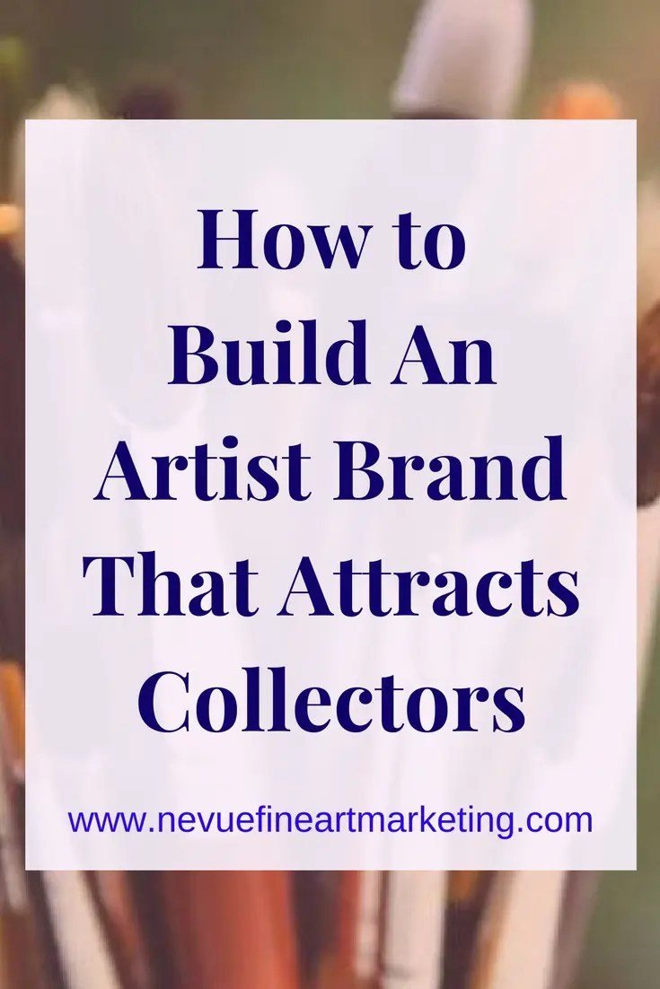 The importance of an artist brand is essential to the development of their business.