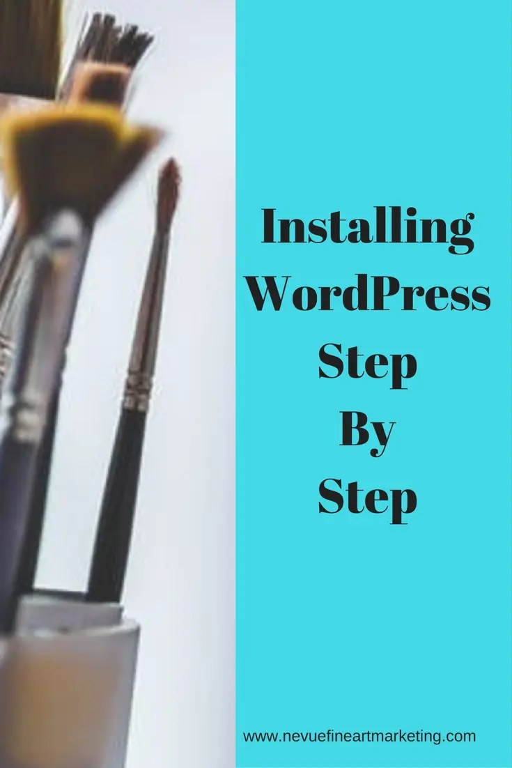 Installing WordPress Step by Step. This is a step by step guide to help you install WordPress using HostGator. Start your art blog today.
