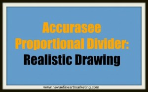 Accurasee Proportional Divider Realistic Drawing