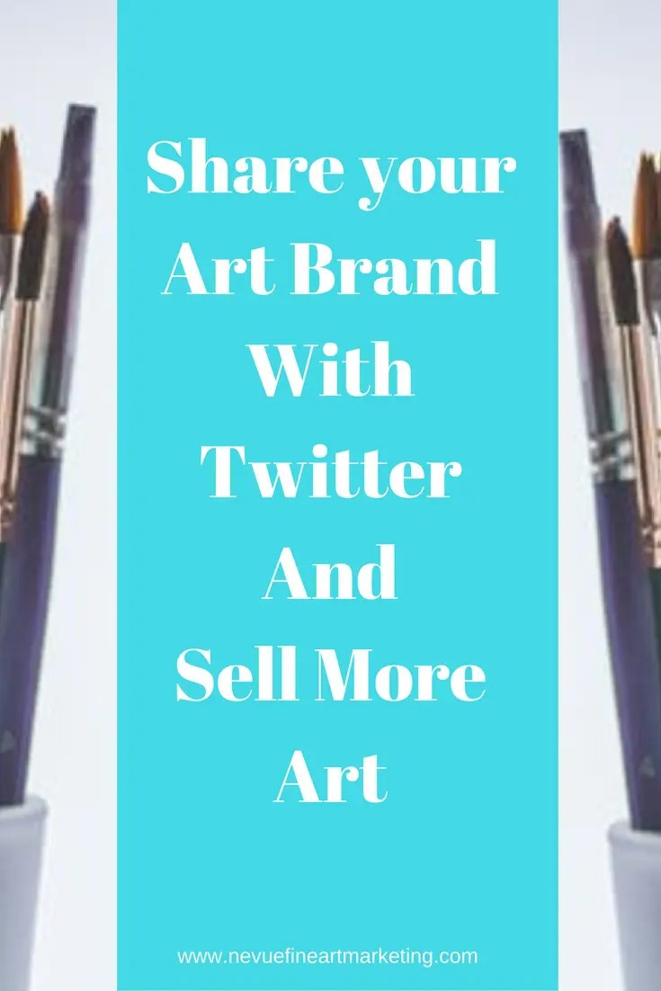 Are you using Twitter for your art business? If you have never used Twitter might be time to give to give it a try.