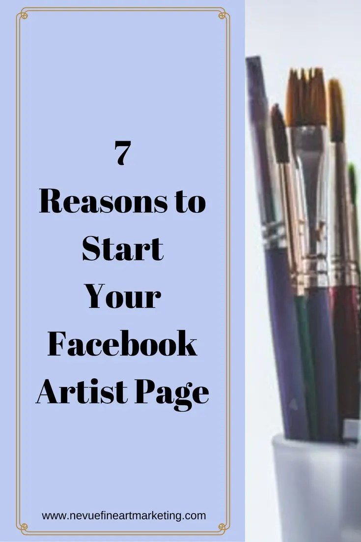Do you keep putting off starting a Facebook artist page? In thispost, you will discover why you should start creating your artist Facebook page once you are done reading this post.