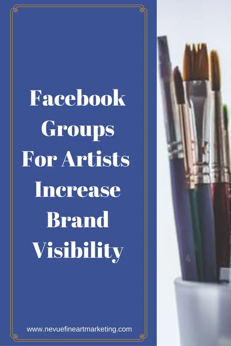 Would you like to increase your brand visibility on Facebook? Joining Facebook groups for artists on Facebook might be something you might want to consider trying.