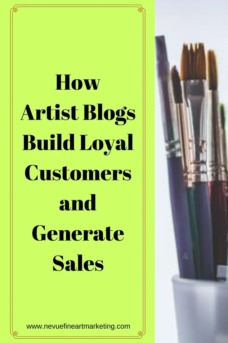 Would you like sell more artwork? Would you like to attract alarger audience?In thispost, you will discover how artist blogs build loyal customers and generate sales.