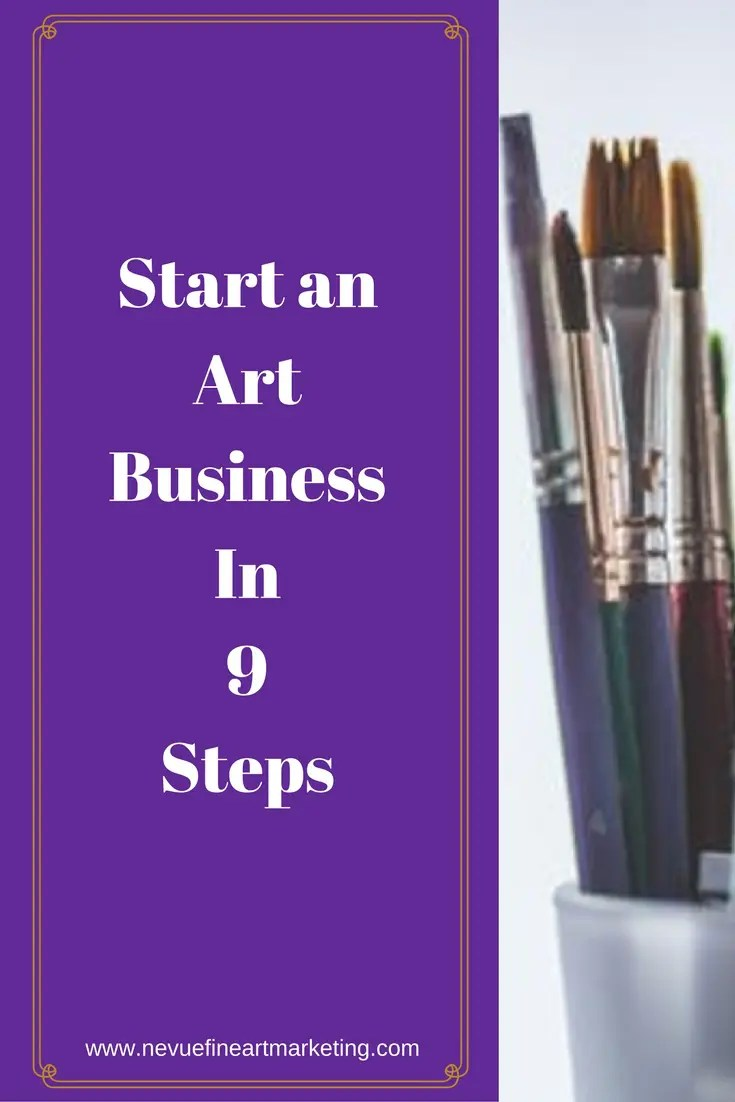 There are three key ingredients that will build a long-term successful art business – planning, marketing and creating. In this post, you will discover how to start an art business in 9 steps.