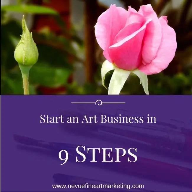 Start an Art Business in 9 steps