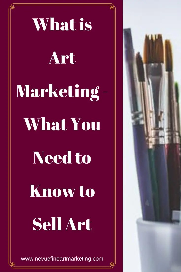 Do you want to sell your art but do not feel comfortable promoting or marketing? In this post, discover what art marketing is and useful tips that will help you to sell more art.