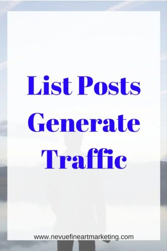 List Posts Generate Traffic