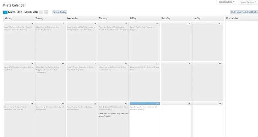 How To Create a Blog Editorial Calendar