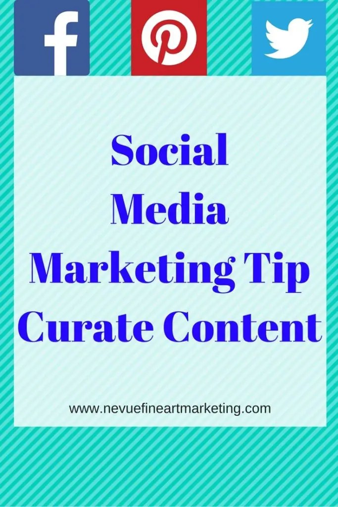 Social Media Marketing Tip, Curate Content - Are you looking for a new way to build your audience? In this post, you will discover how to curate content and produce valuable content for your audience. Enjoy using this social media marketing tip, curate content to start building a larger audience.