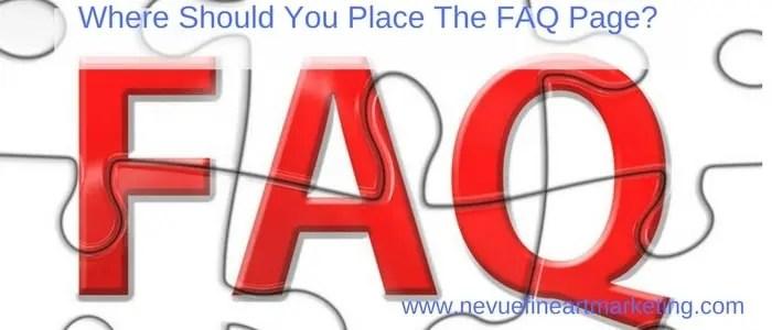How to Write a FAQ Page - Nevue Fine Art Marketing