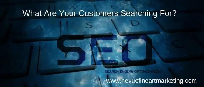 Sell More Art Online Keyword Research - Nevue Fine Art Marketing