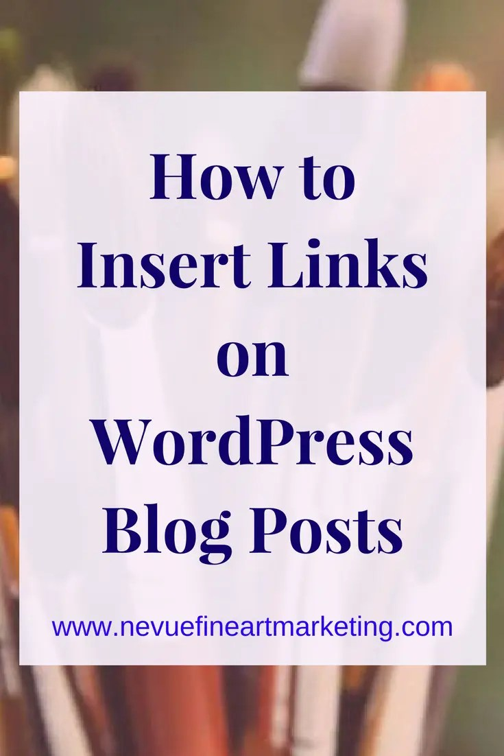 How to Insert Links on WordPress Blog Posts. Step-by-step instructions on how to insert and edit links on WordPress.