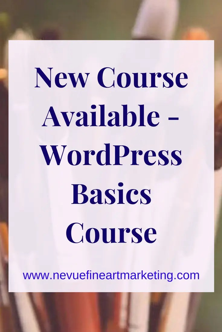 WordPress Basics Course. Online course that will show you everything you need to know about your WordPress Dashboard