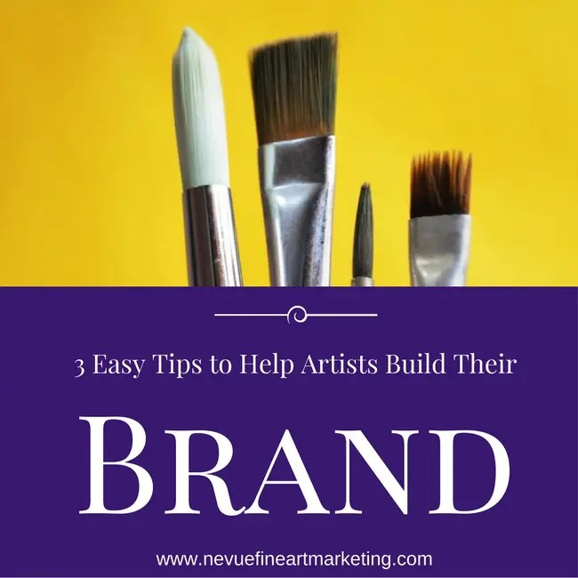 3 Easy Tips to Help Artists Build Their