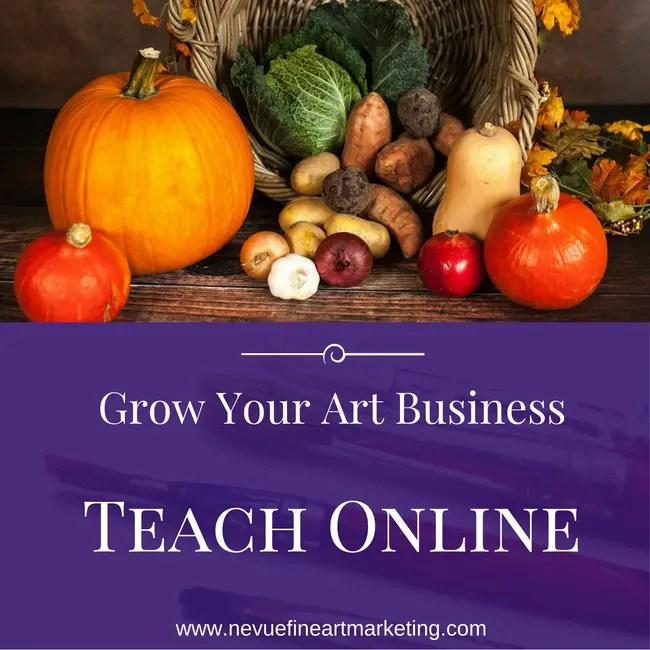 How artists can grow their art business by teaching online for Where can i sell paintings online
