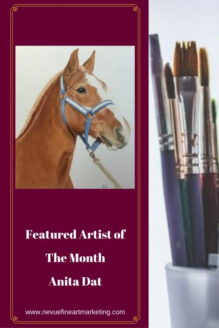 I am proud to present Featured Artist of the Month Anita Dat. You are not going to want to miss this!