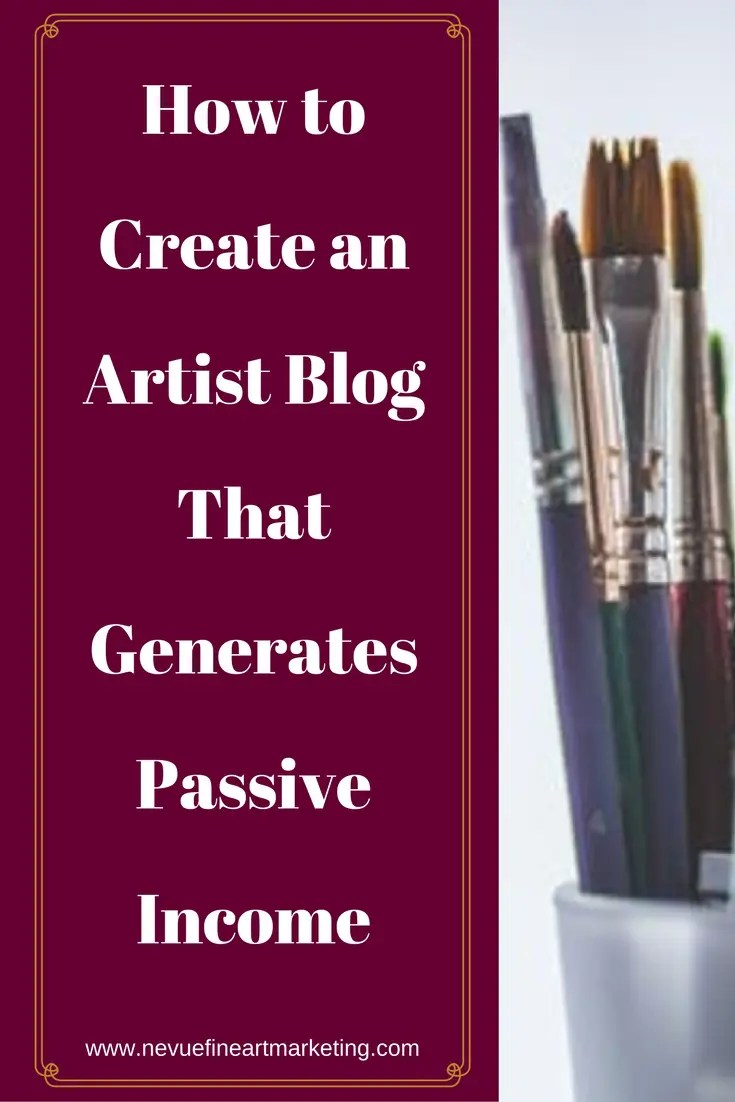 Are you tired of waiting for your original artwork to sell? Why not generate extra income through your art blog? In this post, you will discover how to create an artist blog that generates passive income.