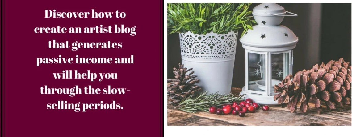 How to Create an Artist Blog That Generates Passive Income