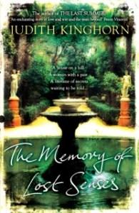 memory  of lost senses book cover