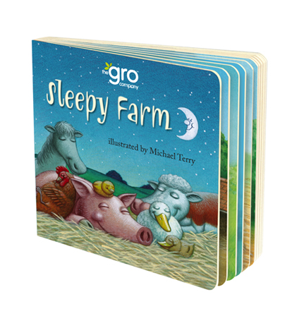 Sleepy Farm book