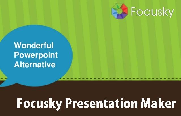 برنامج Focusky لإنشاء عروض تقديمية مذهلة تعليم جديد