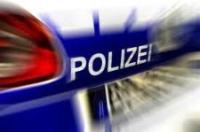 Polizei-Schriftzug