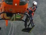 Rettungshubschrauber-Bergung