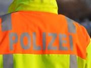 polizei gelbe einsatzjacke schriftzug