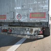 LKW Unfall Leipheim A8
