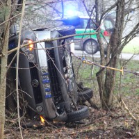 Ottobeuren - Schwerer Verkehrsunfall auf MN31 - Frau schwerst verletzt
