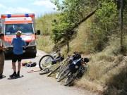 03-07-2014-unterallgaeu-groenenbach-pkw-radfahrer-lebensgefahr-unfall-rettungshubschrauber-notarzt-polizei-poppel-new-facts-eu20140703_0002