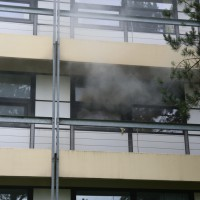 Kaufbeuren - Brand im Klinikum - Grosseinsatz der Einsatzkräfte