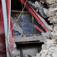 02.12.2014 LKW-in-Haus-Totalschaden-Fahrer-tot-Feuerwehr-Polizei- Rettungsdienst-Halblech-Vollsperrung-Bringezu-New-facts (27)