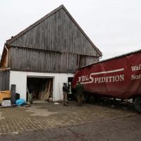 02.12.2014 LKW-in-Haus-Totalschaden-Fahrer-tot-Feuerwehr-Polizei- Rettungsdienst-Halblech-Vollsperrung-Bringezu-New-facts (30)
