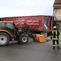 02.12.2014 LKW-in-Haus-Totalschaden-Fahrer-tot-Feuerwehr-Polizei- Rettungsdienst-Halblech-Vollsperrung-Bringezu-New-facts (72)