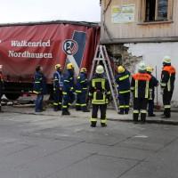02.12.2014 LKW-in-Haus-Totalschaden-Fahrer-tot-Feuerwehr-Polizei- Rettungsdienst-Halblech-Vollsperrung-Bringezu-New-facts (78)