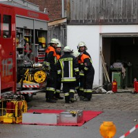 02.12.2014 LKW-in-Haus-Totalschaden-Fahrer-tot-Feuerwehr-Polizei- Rettungsdienst-Halblech-Vollsperrung-Bringezu-New-facts (91)