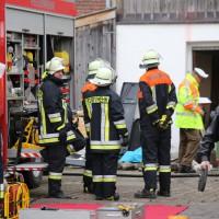 02.12.2014 LKW-in-Haus-Totalschaden-Fahrer-tot-Feuerwehr-Polizei- Rettungsdienst-Halblech-Vollsperrung-Bringezu-New-facts-Unfall (7)