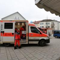 BY Vöhringen  Fritteusen-Brand rasch gelöscht