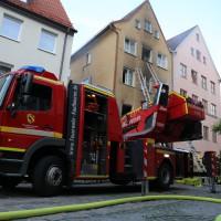 02.06.2015-Kaufbeuren-Brand-Altstadt-Wohnhaus-unbewohnbar-Großeinsatz-Feuerwehr-Rettungsdienst-mehrere Verletzte-New-facts (42)