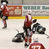 06-11-2015_Memmingen_Eishockey_Randale_Indians_ECDC_Hoechstadt_Polizei_Fuchs_new-facts-eu0081
